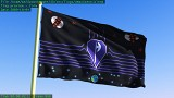 The Colm flag, in 3D